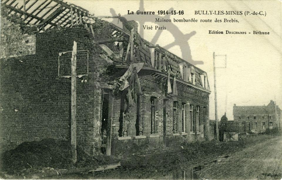 La guerre 1914 15 16 bully les mines p de c for Articles de maison anglo canadian s e c