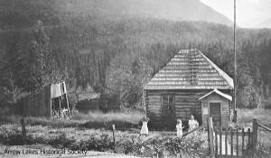 First Brouse School, near Box Lake